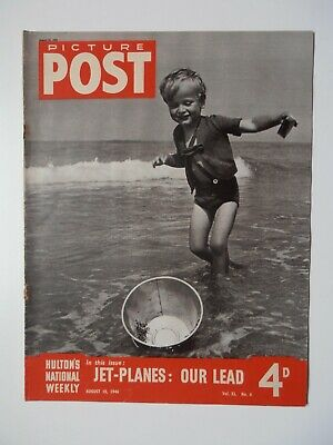Vintage Picture Post Magazine - 10 August 1946 - Vol. 32 No. 6 • 5.99£