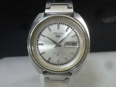 $ CDN17.67 • Buy Vintage 1969 SEIKO Automatic Watch [SEIKO 5] 23J 5126-7020 Bezel Ring Is Missing