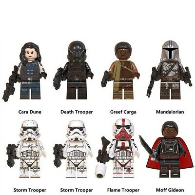 The Mandalorian Disney Mini-figures. Lego Compatible - NEW - Posted From U.K. • 12.99£