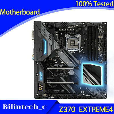 AU599.74 • Buy FOR ASRock Z370 EXTREME4 Motherboard Supports 9th Generation DDR4 64GB LGA1200