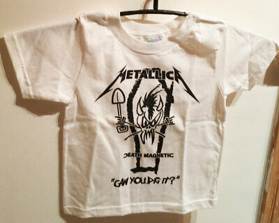 £12.82 • Buy Metallica Death Magnetic *Can You Dig It* Baby T-Shirt Size 4 Toddler 24 Monate