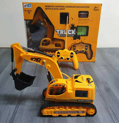 1:14 Rc Truck 8ch Full Functional Remote Control Excavator Construction Tractor • 29.99£
