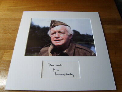 £299.99 • Buy Dads Army Arnold Ridley Genuine Signed Authentic Autograph - UACC / AFTAL.