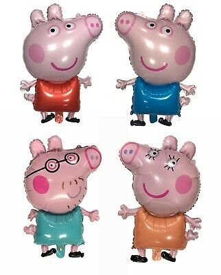 £3.49 • Buy Large 31  Peppa Pig George Balloon Birthday Party Foil Air Helium Balloons UK