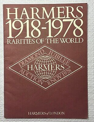 £4.99 • Buy 1978 RARITIES OF THE WORLD Jubilee Auction Catalogue + Prices Realised, Harmers
