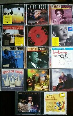 $ CDN6.53 • Buy Lot Of 14 CDs Mostly Jazz, Weather Report, Miles Davis, Charles Parker And More