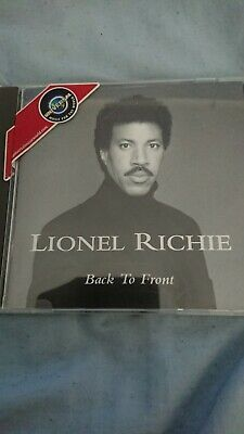 Lionel Richie Back To Front CD • 1£