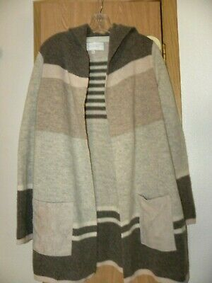 $ CDN13.08 • Buy Anthropologie Angel Of The North Lambs Wool Cardigan Sweater Size Med