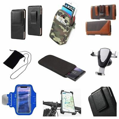 £15.98 • Buy Accessories For HTC Desire 606w: Sock Bag Case Sleeve Belt Clip Holster Armba...