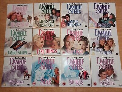 DANIELLE STEEL COMPLETE SET OF TWELVE DAILY MAIL PROMO DVD's(FREE UK POST) • 10.99£