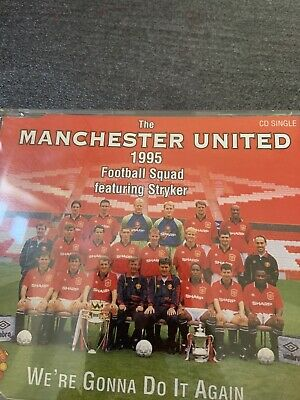 Manchester United Football Squad(CD Single)We're Gonna Do It Again-Poly- • 0.10£