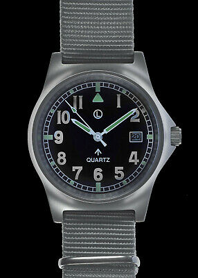 MWC G10 LM Stainless Steel Military Watch On A Grey NATO Strap (Sterile Dial) • 69.99£