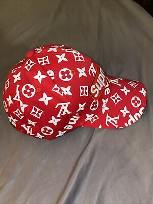 $ CDN97.30 • Buy Designer Supreme Hat Red