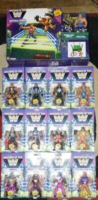 $350 • Buy WWE Masters Of The Universe Lot Of 14 Wave 1 2 & 3 Grayskull Ring 9 Unpunched