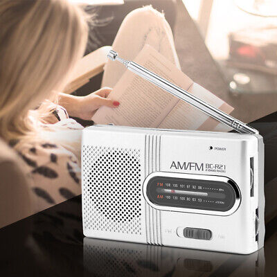 Universal Portable AM/FM Mini Radio Stereo Speakers Receiver Music Player UK • 7.39£