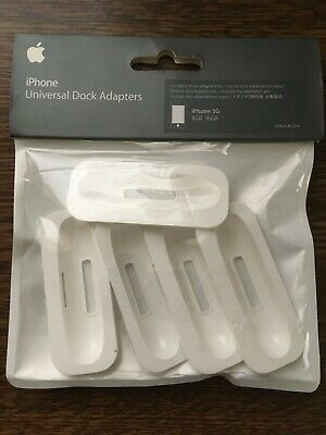 Apple IPod Universal Dock For IPhone 3G & 3GS - MB546G/A (Dock No15) SET OF 5 • 0.99£