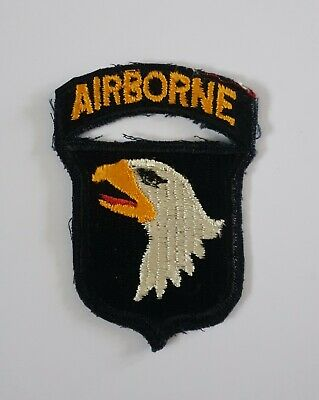 United States Army Military Badge Formation Sign WWII US Army 101st Airborne Div • 2.50£