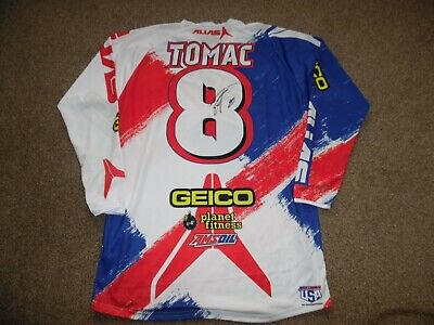 Eli Tomac Team Usa Motocross Des Nations 2013 Jersey Size Large New Without Tags • 495£