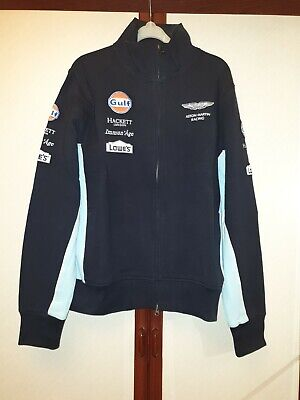 Team Issue Aston Martin Hackett Full Zip Top Size Large Le Mans Gulf Vantage GTE • 24.99£