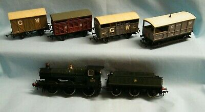Bachmann Collett Goods Loco With 3 Wagons & A Guards Van. • 35£