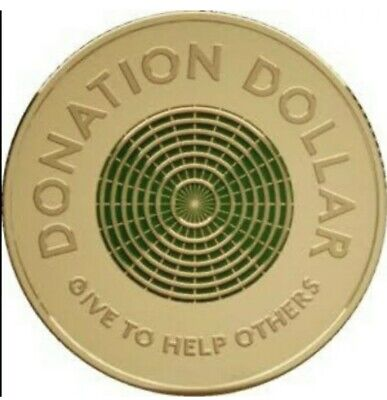 AU39 • Buy 2020 $1 One Dollar Green Coin Donation Dollar - Uncirculated Mint Bag 20 Coins