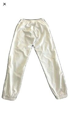 Lacoste White Tracksuit Bottoms Size 36 Fits Teen 14/16 Mens Size 3 • 13£