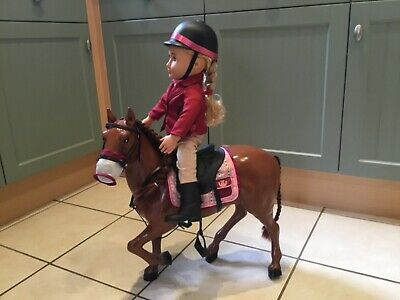 Large Doll With Toy Horse Includes Clothing And Accessories - Collection Only • 5.50£
