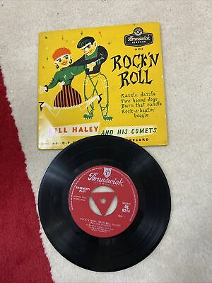 BILL HALEY AND HIS COMETS Rock'N Roll  EP 1956 TRI BRUNSWICK EX EX • 5.99£