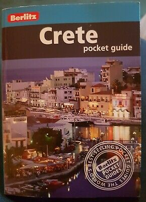 Crete Berlitz Pocket Guide (Berlitz Pocket Guides) By Berlitz Paperback Book • 2£