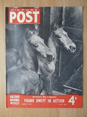 Vintage Picture Post Magazine - 31 January 1948 - Vol. 38 No. 5 • 7.99£