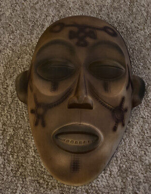 Cermaic African Tribal Mask • 5.50£