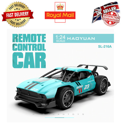 £29.99 • Buy RC Cars Radio Control Race Car Toys For Children 1:24 High Speed Electric Mini