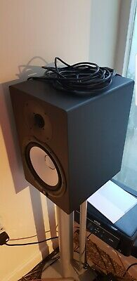 Yamaha HS8 Powered Studio Monitor (Pair) Incl. Stands As Shown • 400£