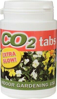 £12.99 • Buy CO2 Tablets Slow Release Tub Of 60 - Hydroponics Carbon Dioxide Levels Grow Room