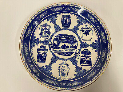 Ringtons The Decorative  Caddy Collection Plate Blue & White1993 Collectable  • 9.99£