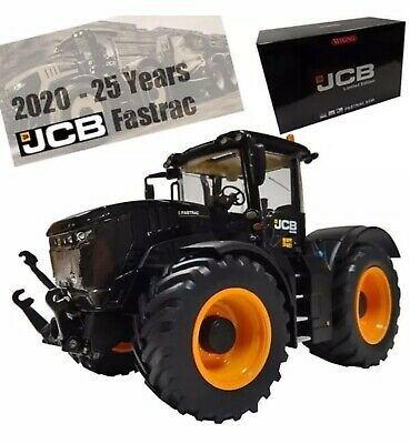 JCB FASTRAC 8330 25 YEAR Black LTD EDITION 1 Of 500 Only WIKING MODEL • 175£