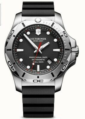 Mens Victorinox Swiss Army INOX Professional Diver Dive Watch 241733 • 299.99£