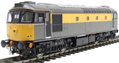 Heljan Class 33 In Civil Engineers 'Dutch' Grey And Yellow 3401 • 549.99£