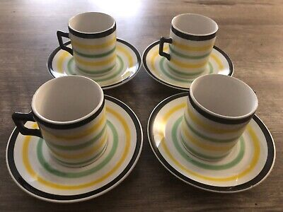 £10.74 • Buy Coffee Expresso Made In Italy Cappuccino Cup & Saucer Lot Set