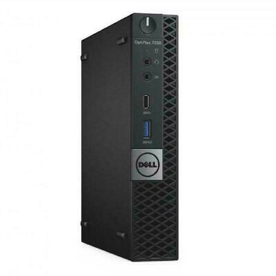 AU399 • Buy Dell Optiplex 7050 Micro Intel I5 6500T 2.5Ghz 8Gb Ram 128Gb SSD Win 10 Pro Wifi