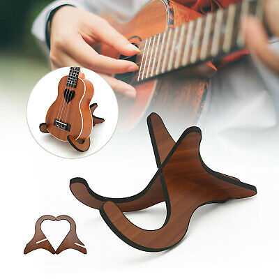 AU13.55 • Buy Folding Ukulele Stand Floor Rack Electric Acoustic Bass Gig Holder AU