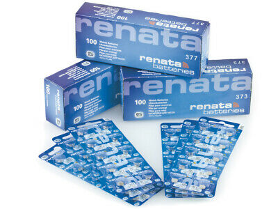 Renata Watch Batteries. We Sell EVERY SIZE Of Renata Battery FREE DELIVERY  • 1.85£