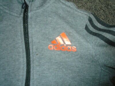 Adidas Hooded Track Top • 4.90£