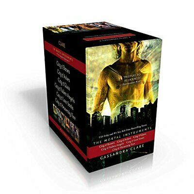 The Mortal Instruments, The Complete Collection: City Of Bones; City Of Ashes... • 101.98£