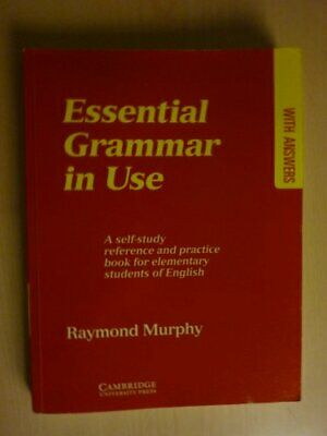 £15.25 • Buy Essential Grammar In Use With Answers: A Self-Study Reference And Practice Bo...