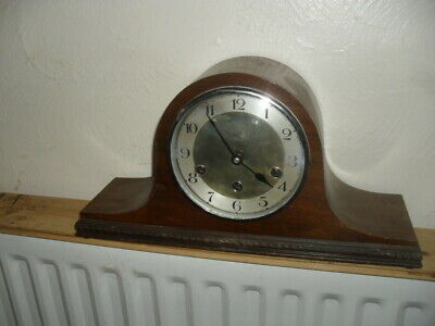 Haller Art Deco Mantle Clock With Westminster Chime • 99.95£