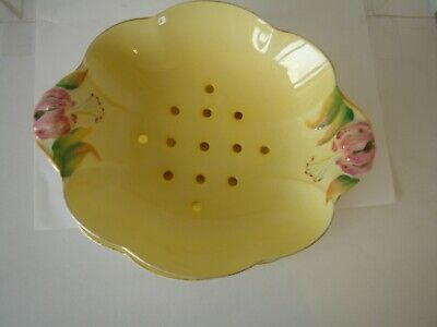 $ CDN34.57 • Buy Royal Winton   Grimwades Tiger Lily   Salad Drainer Bowl And Plate