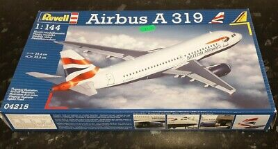 REVELL Airbus A319 British Airways/German Wings 1:144 Model Kit 04215 • 25£