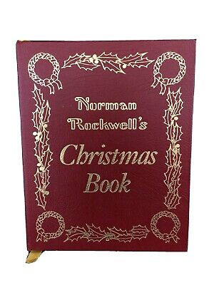 $ CDN41.47 • Buy Norman Rockwell's Christmas Book - Leather Easton Press Collector's Edition 1977