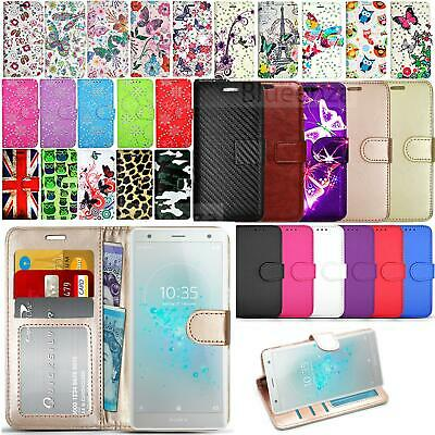 $ CDN8.57 • Buy For Sony Xperia 5 L4 L3 L2 XA1 Wallets Case Leather HeavyDuty Book Cover Stand